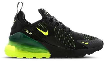 grün schwarz nike air max